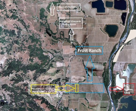 Frost ranch map